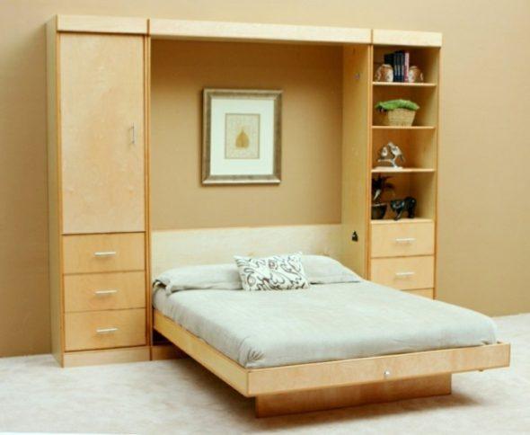 Удобная кровать-шкаф