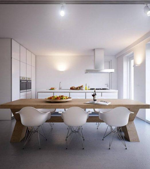 Уютная кухня без лишнего