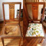 Восстановленное мягкое сидение стула