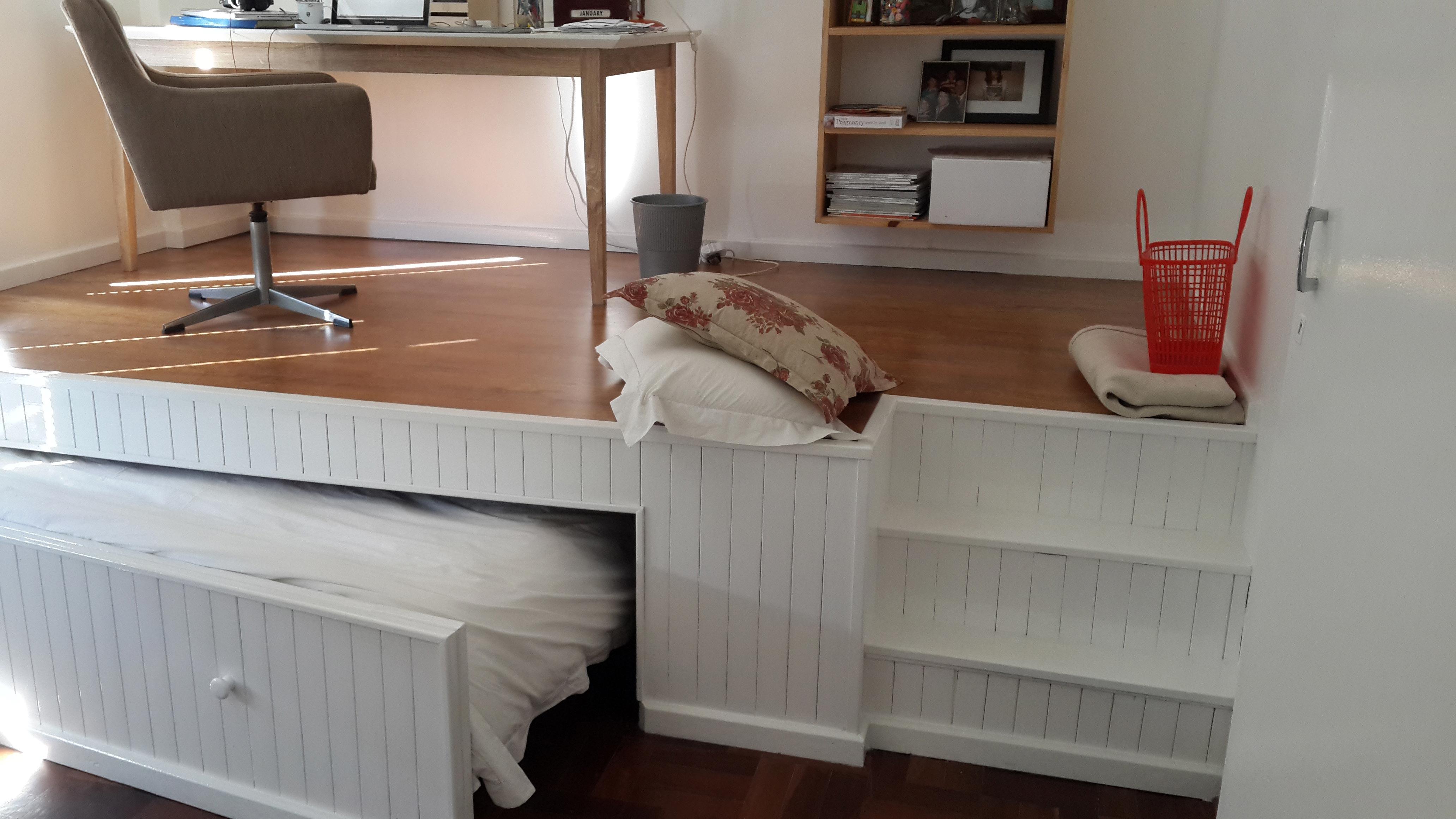 Кровать подиум своими руками пошагово фото