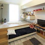 Выездное спальное место в гостиной