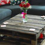 Журнальный столик в гостиную из паллет