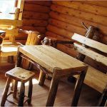 Деревянная мебель для бани своими руками