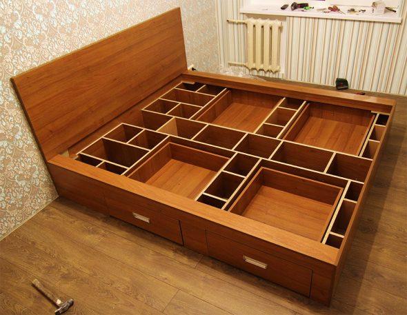 Функциональное использование кровати