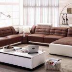 Комплект современных красивых диванов