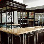 Кованные украшения кухонной мебели