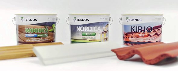 Краски фирмы Teknos