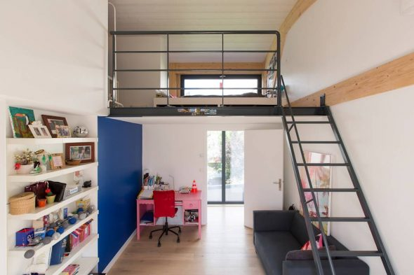 Кровать-балкон
