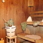 Мебель для бани из дерева на даче