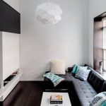 Модульный диван для маленькой комнаты