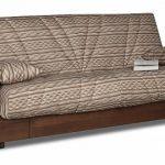 Необычный ортопедический диван с каркасом из дерева