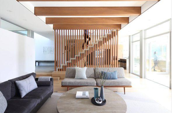 Серые диваны для современной гостиной