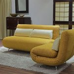 Раскладные диван и кресло песочного цвета