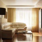 Шикарный светлый диван в гостиную
