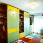 Шкаф-кровать для маленькой детской