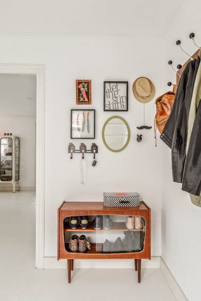 Ретро-шкафчик для обуви