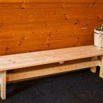 Скамья для бани для начинающих