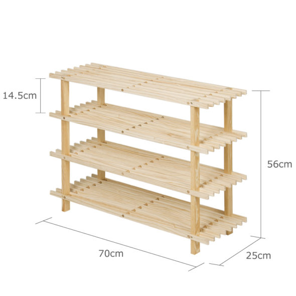 Схема деревянного стеллажа