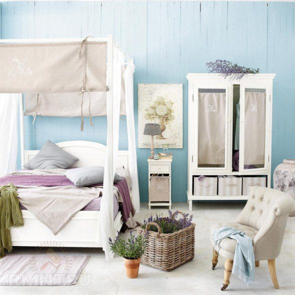 Спальня в прованском стиле