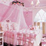 Воздушный балдахин для оформления девочковой спальни