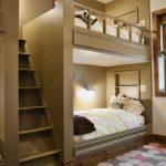 Встроенный 2 этаж для кровати