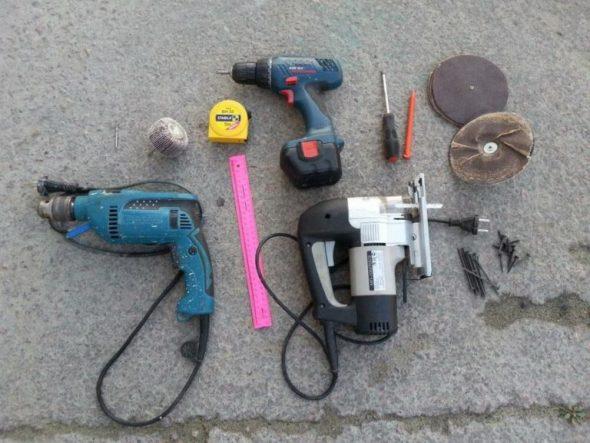 Инструменты для создания мебели