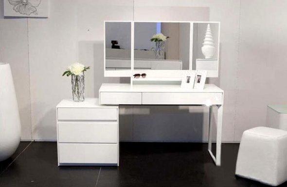 Белый столик в любом интерьере