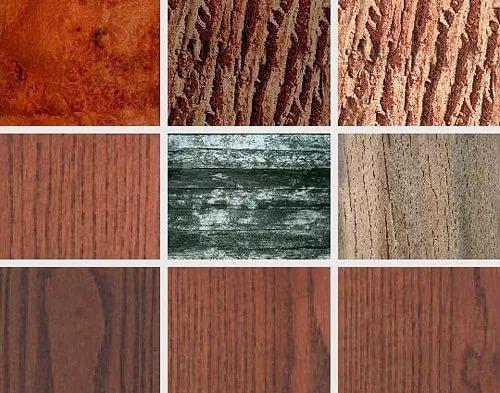 Древесина различных пород