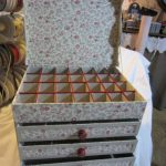 Комод-органайзер из картона