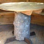 Круглый стол из подручных материалов
