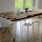 Кухонный стол из паллет своими руками