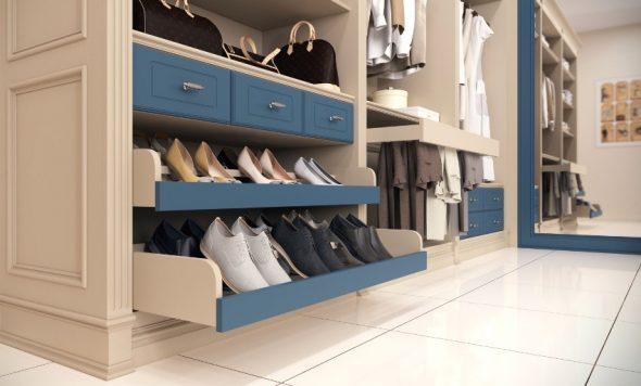 Выдвижные ящики для обуви