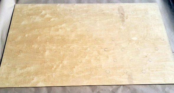 Распиливаем лист фанеры