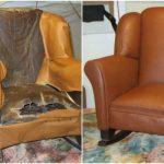 Ремонт старого кресла-качалки