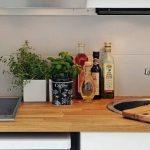 Современная кухня из массива дерева