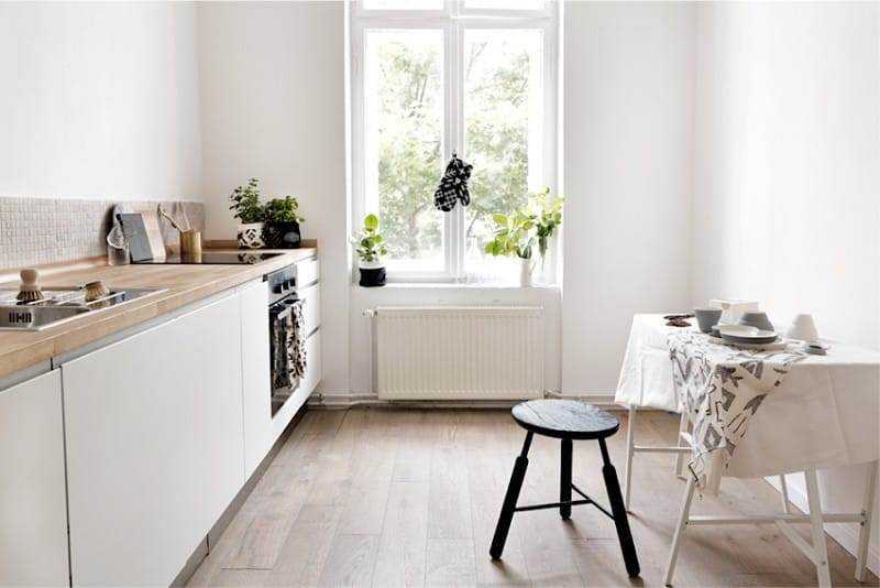 кухни без верхних шкафов как их применить в интерьере