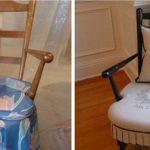 Старое, но крепкое и любимое кресло по-новому