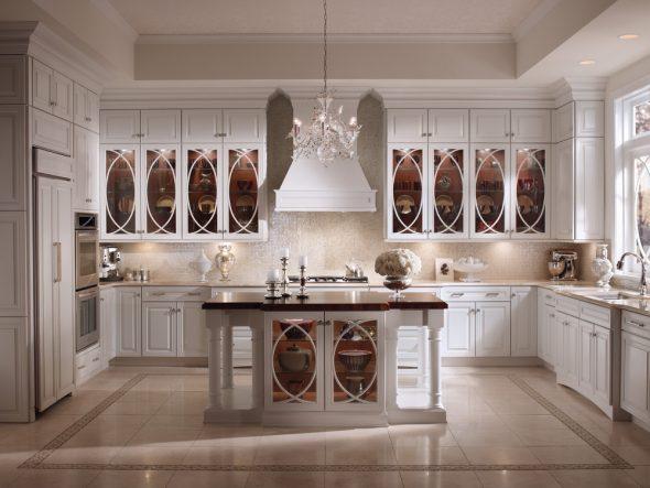 Неординарный кухонный гарнитур