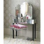 Зеркальный столик с раскладным зеркалом