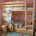 Двухъярусная кровать из сосны своими руками