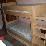 Кровать из ДСП в два яруса