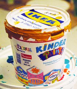Краски специальные для детских