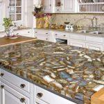 Необычное решение для кухонной столешницы