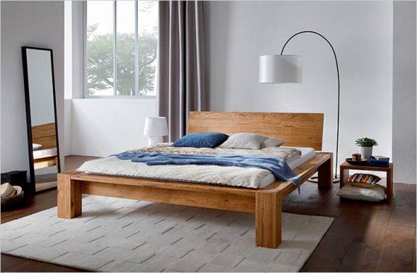 Простой каркас кровати