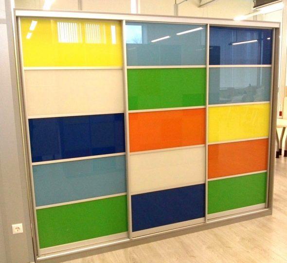 Цветные плёнки для дверей