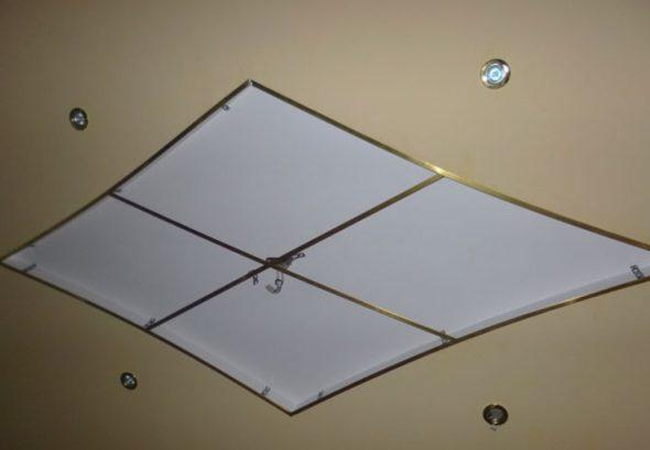 Каркас для зеркального потолка