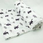 Детское муслиновое одеяльце с оленями