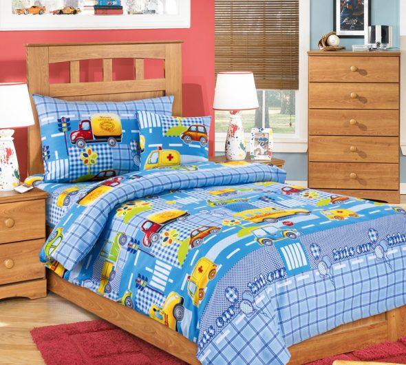 Детское постельное из перкаля