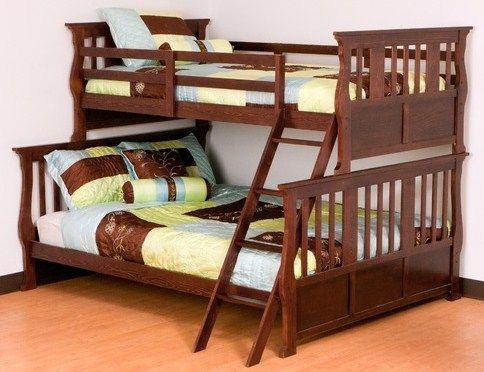 Трехспальная двухъярусная кровать