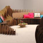 Картонный диван своими руками